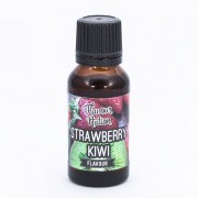 Bottle of strawberry kiwi flavouring