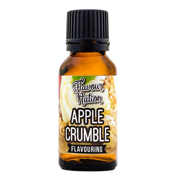 Apple Crumble Flavoured Flavourant for baking