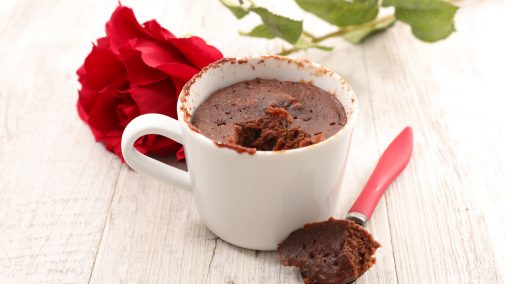 Sugar free Chocolate Hazelnut Mug Cake