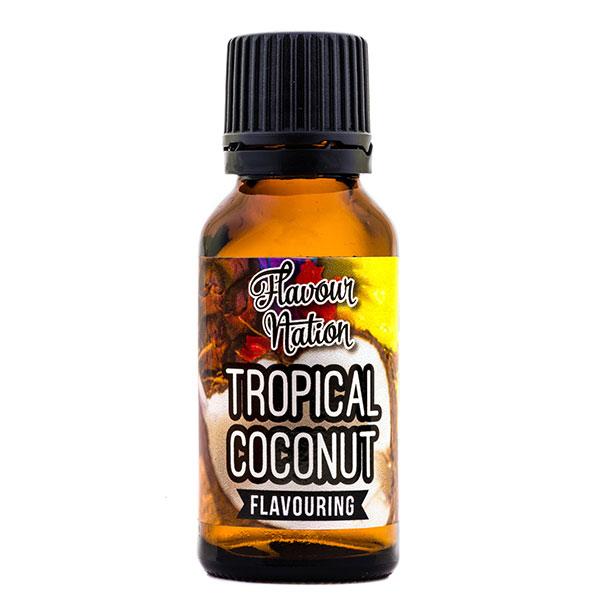 Tropical Coconut Marshmallow Flavoured Flavourant for Confectionery Baked Goods