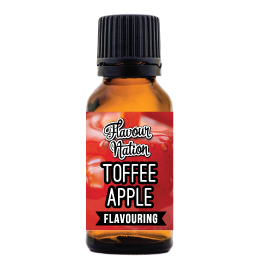 Toffee Apple Flavoured Food Flavouring for baking and sweetened beverages